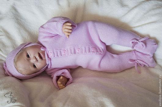 Комплект на выписку Малышок для недоношенных и близнецов