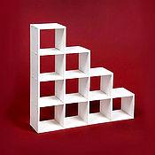 Куклы и игрушки handmade. Livemaster - original item Rack-ladder for 10 cells for dolls 1:6 (Barbie), 1:4 MSD, 1:3 SD. Handmade.