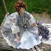 Куклы и игрушки ручной работы. Ярмарка Мастеров - ручная работа Интерьерная куколка в стиле Тильда. Handmade.
