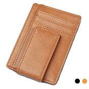 Сумки и аксессуары handmade. Livemaster - original item Buy Gordey leather money clip for men and women. Handmade.