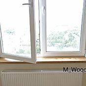 Для дома и интерьера handmade. Livemaster - original item Window sill made of solid elm. Handmade.