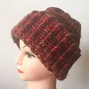 Аксессуары handmade. Livemaster - original item Hat knit. Winter hat. Handmade.