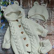 Работы для детей, handmade. Livemaster - original item Knit kit for kids