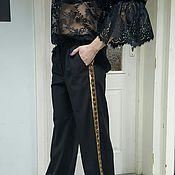 Одежда ручной работы. Ярмарка Мастеров - ручная работа Костюм чёрный. Handmade.