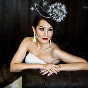 Свадебный салон ручной работы. Ярмарка Мастеров - ручная работа Свадебная шляпка Одуванчик. Handmade.