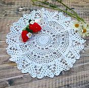 Для дома и интерьера handmade. Livemaster - original item a napkin tracery.. Handmade.