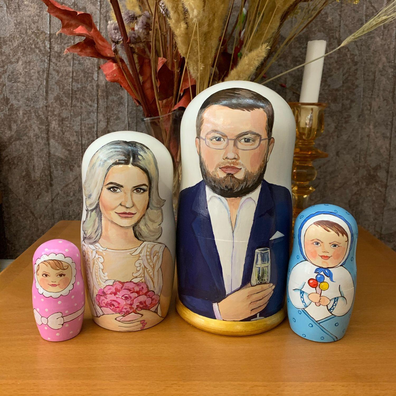 Матрешка по фото Подарок к свадьбе, Подарки, Москва,  Фото №1