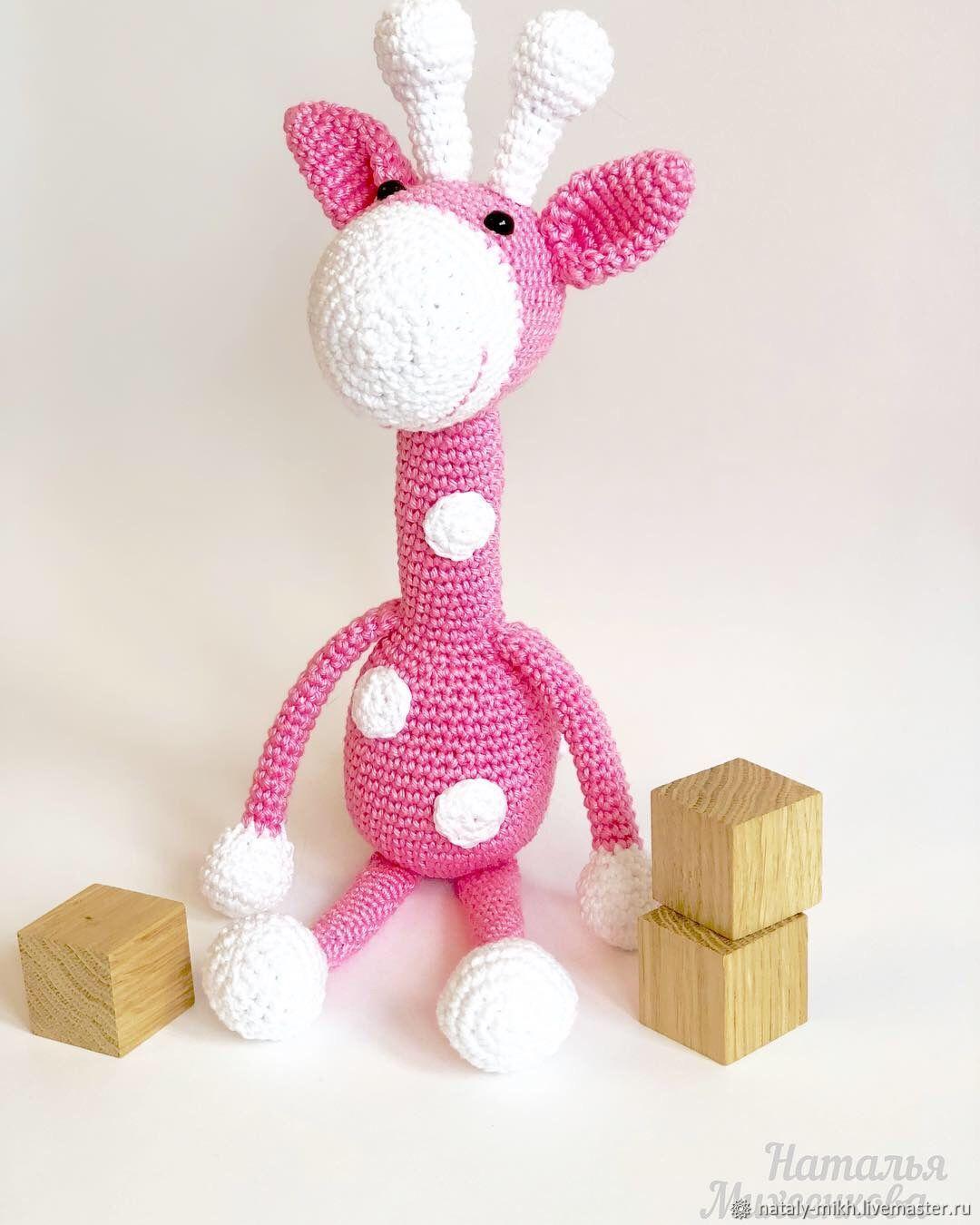 Жирафик розовый, Мягкие игрушки, Москва,  Фото №1