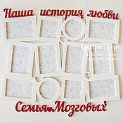 Сувениры и подарки ручной работы. Ярмарка Мастеров - ручная работа Фоторамка из дерева на заказ. Handmade.