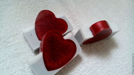 """Мыло ручной работы. Ярмарка Мастеров - ручная работа. Купить Мыло ручной работы """"В моем сердце"""". Handmade."""