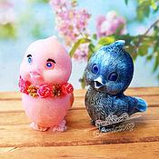 Косметика ручной работы handmade. Livemaster - original item Baby Bird handmade soap Easter cute gift for kids on holiday. Handmade.
