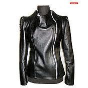 Одежда handmade. Livemaster - original item Leather sheepskin jacket. Handmade.