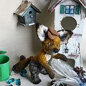 Куклы и игрушки ручной работы. Ярмарка Мастеров - ручная работа Лис-хулиган. Handmade.