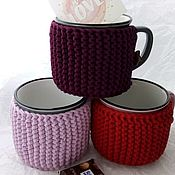 Подарки на 8 марта ручной работы. Ярмарка Мастеров - ручная работа Чашка в свитере. Handmade.
