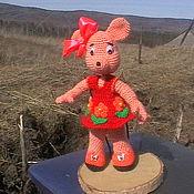"""Куклы и игрушки ручной работы. Ярмарка Мастеров - ручная работа Мышка"""" Дашка"""". Handmade."""