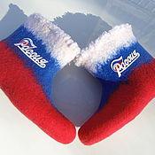 Slippers handmade. Livemaster - original item Sneaker chuni RUSSIA - FORWARD!!!. Handmade.