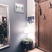 Для дома и интерьера handmade. Livemaster - original item Housekeeper on the wall in the hallway. Handmade.