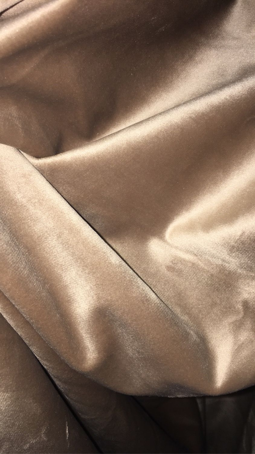 Finished Curtains velour ,beige,curtain height 265 cm, Curtains1, Mozhaisk,  Фото №1