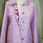 Одежда ручной работы. Ярмарка Мастеров - ручная работа Куртка демисезонная стеганая. Handmade.