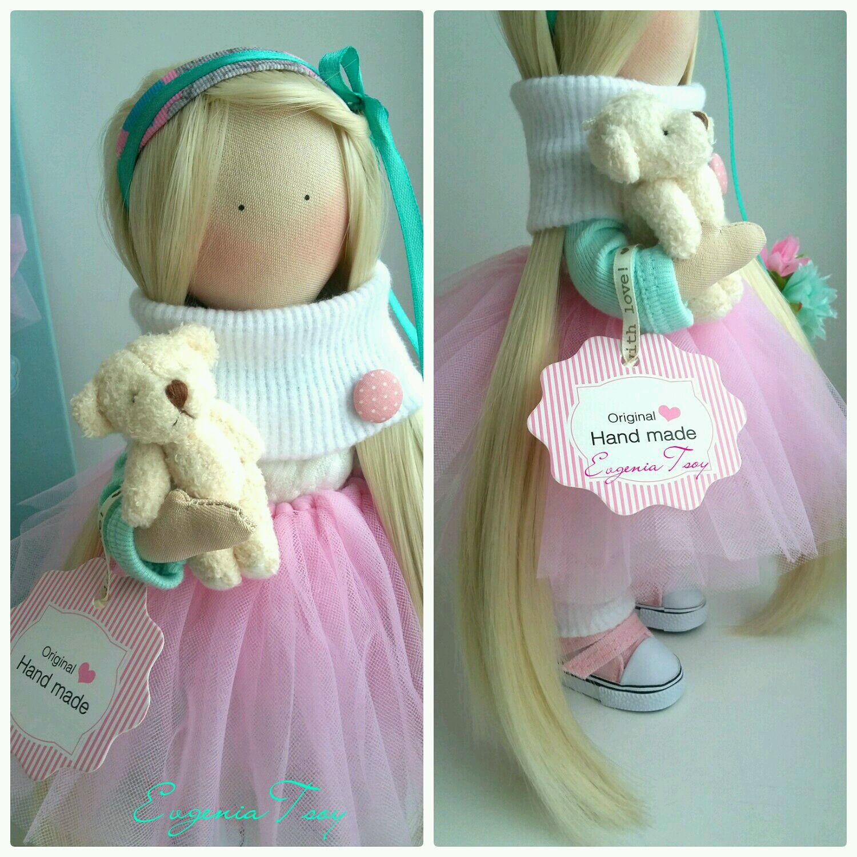 Видео как сшить куклу тильда