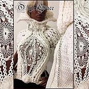 Одежда ручной работы. Ярмарка Мастеров - ручная работа Дизайнерский свитер ручной работы от Olga Lace. Handmade.