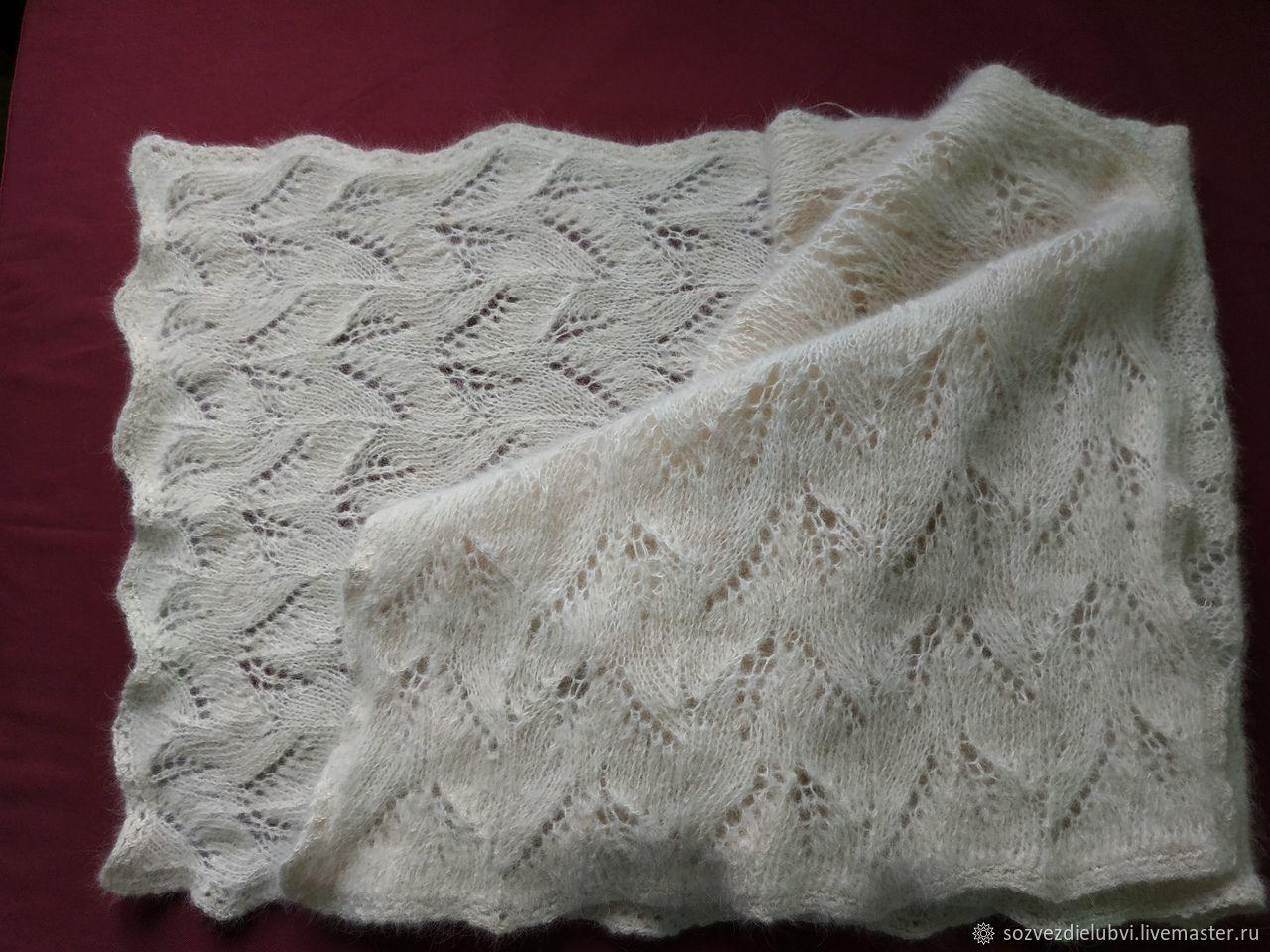 Stole from the dog wool, Wraps, Krasnoyarsk,  Фото №1