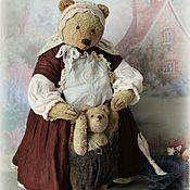 Куклы и игрушки ручной работы. Ярмарка Мастеров - ручная работа Мама Поля с сыночком.... Handmade.
