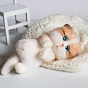 Куклы и игрушки handmade. Livemaster - original item Cat