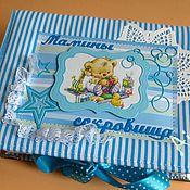 """Подарки к праздникам ручной работы. Ярмарка Мастеров - ручная работа Шкатулка """"Мамины сокровища"""". Handmade."""