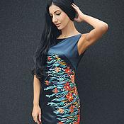 Одежда handmade. Livemaster - original item Elegant embroidered dress