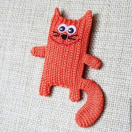 Игрушки животные, ручной работы. Ярмарка Мастеров - ручная работа. Купить кот игрушка рыжий, мягкая игрушка кот, вязаная игрушка мягкая. Handmade.