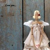 Куклы и игрушки ручной работы. Ярмарка Мастеров - ручная работа кукла тильда ручной работы МОЙ АНГЕЛ. Handmade.