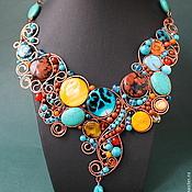 Украшения handmade. Livemaster - original item Necklace Beauty Your Freedom (вариант4). Handmade.