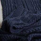 Аксессуары handmade. Livemaster - original item Warm and soft scarf made of wool, pashmina, wide scarf,mens/womens. Handmade.