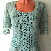 Одежда handmade. Livemaster - original item Dress Color mint. Handmade.