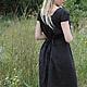 Платья ручной работы. Платье  льняное № 1. Alisa Izbusheva. Ярмарка Мастеров. Платье короткое, льняная одежда