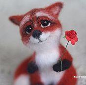 Куклы и игрушки handmade. Livemaster - original item Copyright felted toy tiny Fox Juliet. Handmade.