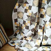 Для дома и интерьера handmade. Livemaster - original item Patchwork bedspread AUTUMN MORNING. Handmade.