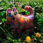 Куклы и игрушки ручной работы. Ярмарка Мастеров - ручная работа Солнечный Кот.#кантрикоты.Текстильные коты. Handmade.