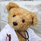Куклы и игрушки ручной работы. Ярмарка Мастеров - ручная работа Авторский мишка Семейный доктор. Handmade.