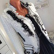 Одежда ручной работы. Ярмарка Мастеров - ручная работа Жакет в стиле Шанель.. Handmade.