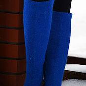 Обувь ручной работы. Ярмарка Мастеров - ручная работа Высокие валяные сапоги. Handmade.