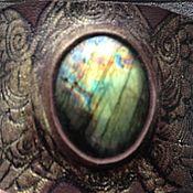 Украшения ручной работы. Ярмарка Мастеров - ручная работа Кожаный браслет.. Handmade.