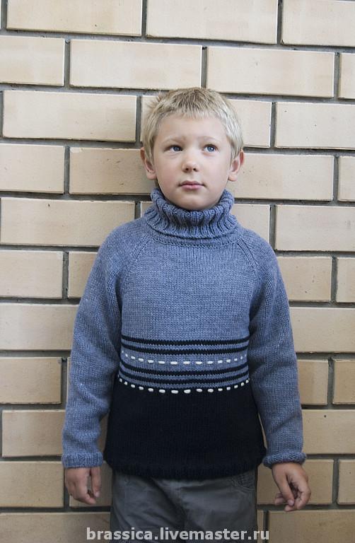 свитер, свитер вязаный, свитер детский, свитер для мальчика, свитер купить, вязание для детей, вязание для мальчиков, одежда для мальчиков
