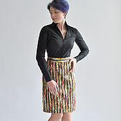 Одежда handmade. Livemaster - original item Skirt Coats Rainbow. Handmade.