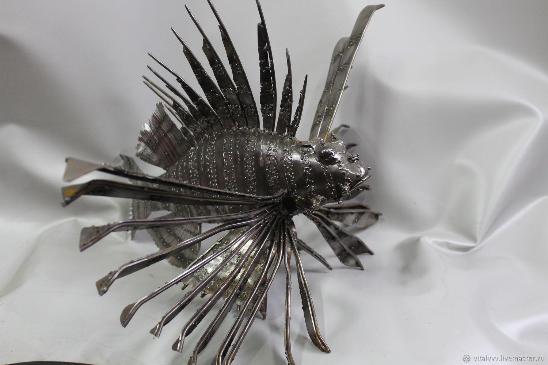 Рыба- крылатка, Скульптуры, Белгород, Фото №1