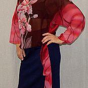 Одежда handmade. Livemaster - original item Blouse batik