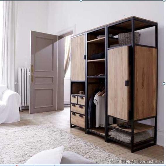 Шкаф в стиле Лофт, Шкафы, Липецк,  Фото №1