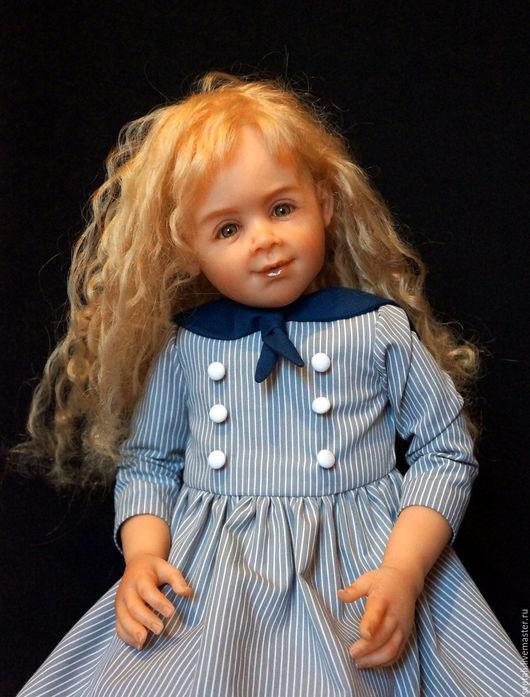Коллекционные куклы ручной работы. Ярмарка Мастеров - ручная работа. Купить Эмилия 57 см. Handmade. Комбинированный, Цернит