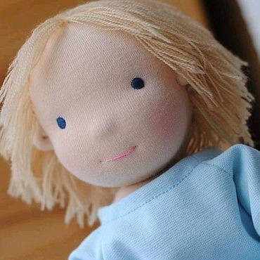 Куклы и игрушки ручной работы. Ярмарка Мастеров - ручная работа Вальдорфская кукла - мальчик.. Handmade.